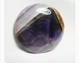 129.60cts Unique African Amethyst Cab Stone S86