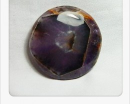 141.30cts Unique African Amethyst Cab Stone S92