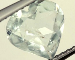 1.05 cts AQUAMARINE FACETED STONE  PG-1486