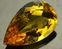 2.89 CTS CERTIFIED GOLDEN BERYL (HELIODORE) STONE [Y35646]