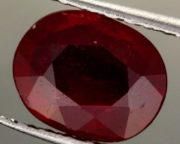 2.05 CTS CERTIFIED BLOOD RED AFRICAN RUBY [R35722]