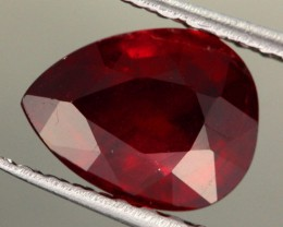 2.46 CTS CERTIFIED BLOOD RED AFRICAN RUBY [R35705]