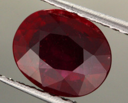 2.47 CTS CERTIFIED BLOOD RED AFRICAN RUBY [R35714]