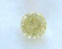 NATURAL-SOLITIARE FANCY YELLOW DIAMOND, 0.75CTWSIZE-1PCS,NR