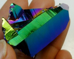 STUNNING TITANIUM TREATED QUARTZ  99.95  CTS   MS29