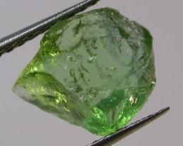4.95 CTS MINT GREEN GLOSSULAR GARNET ROUGH  [F3692 ]