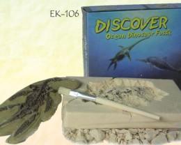 OCEAN DINOSAUR FOSSIL EXCAVATION  KIT