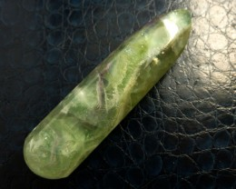 FLUROITE WAND ROUND N POINT ENDS 321  CTS  RT 1994