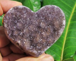1069 CTS TOP  AMETHYST HEART SHAPE   RT 2077