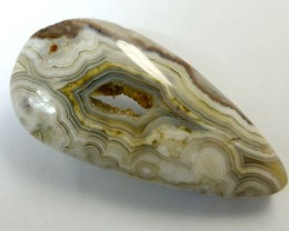 75 CTS UNIQUE LAGUNA  LACE AGATE   RT2382
