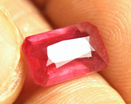 4.74 Carats Reddish Pink African Ruby - Gorgeous Gem