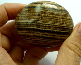 292 CTS MOROCCAN AGATE PALM STONE MS 193