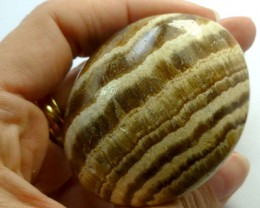 376 CTS MOROCCAN AGATE PALM STONE MS199