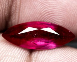 3.90 Carat Marquise Cut VS2 Ruby - Fiery Beauty