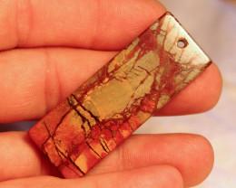 77.78 Carat Pictured Jasper Pendant - Unique and Beautiful