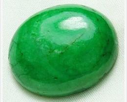 48.30cts Natural Brazil Emerald Cab Stone A933