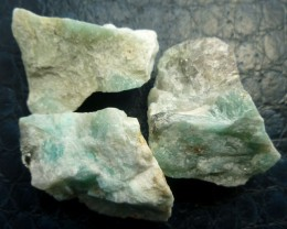 355 CTS AMAZONITE PARCEL MS 576