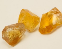 31 CTS A GRADE CITRINE ROUGH NATURAL BG-289