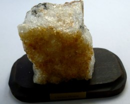 657.20 CTS BRAZIL CITRINE SPECIMEN ON STAND  MS 728