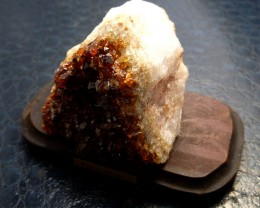 655 CTS BRAZIL CITRINE SPECIMEN ON STAND  MS 730
