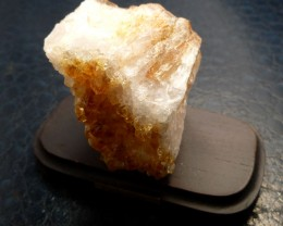 648 CTS BRAZIL CITRINE SPECIMEN ON STAND  MS 732
