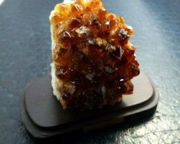 746.35 CTS BRAZIL CITRINE SPECIMEN ON STAND  MS 733