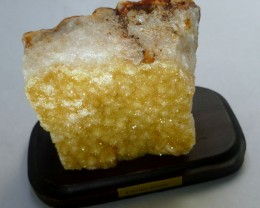 832.30 CTS BRAZIL CITRINE SPECIMEN ON STAND  MS 736