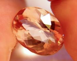 9.64 Carat VVS1 Gorgeous South American Morganite