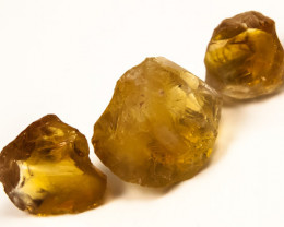 60CTS A GRADE CITRINE ROUGH NATURAL FACET GRADE BG-284