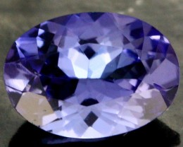 0.72 CTS CERTIFIED VVS TANZANITE STONE - WELL CUT [ZST8]
