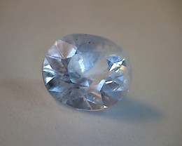 1.05Ct Natural Colourless Master Cut Sapphire-Sparling(A342)