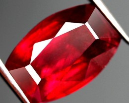 8.10 Carat Fiery Cherry Ruby - Gorgeous