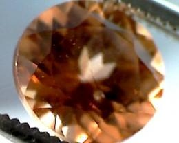 Natural Golden-Brown Zircon Gem, 1.40 carats (A357)