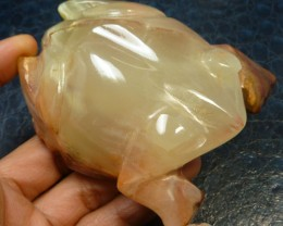 1119 CTS FROG  ONYX CARVING MS 838