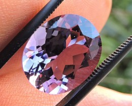 6.00ct VVS BRAZILIAN AMETHYST GEMSTONE OVAL FACETED
