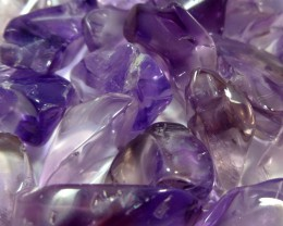441 CTS PARCEL TUBLED CLEAN AMETHYST STONES MS 921