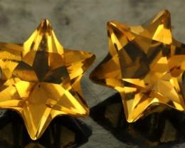 3.73 CTS FANTA ORANGE CITRINE STAR [S7471]