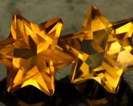 3.68 CTS FANTA ORANGE CITRINE STAR [S7475]