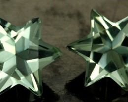 6.19 CTS VS PRASIOLITE STARS (PRASIOLITE) [S7492]