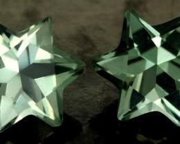 5.27 CTS VS PRASIOLITE STARS (PRASIOLITE) [S7493]
