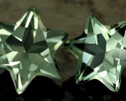 5.71 CTS VS PRASIOLITE STARS (PRASIOLITE) [S7494]