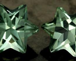 5.95 CTS VS PRASIOLITE STARS (PRASIOLITE) [S7500]