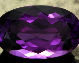 11.76 CTS VS AMETHYST - DEEP RICH PURPLE COLOUR [S7526]