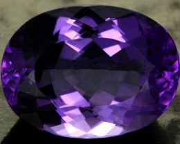 17.43 CTS VS AMETHYST - DEEP RICH PURPLE COLOUR [S7540]