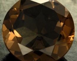 8.69 CTS SMOKY QUARTZ - EARTHY BROWN - VVS [S7601]