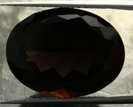 16.52 CTS DARK BLACK SMOKY QUARTZ -  VVS [S7592]