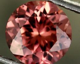 1.27 CTS CHOCOLATE ZIRCON-DIAMOND CUT [S7628]