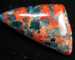 54.78 CTS RARE APATITE + ORANGE CALCITE BRAZIL [ST7297 ]