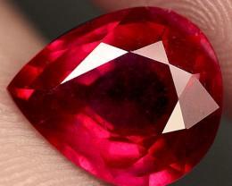 5.10 Carat Fiery Cherry Ruby - Superb