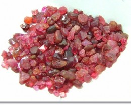 100% Untreated Natural Madagascar Red Spinel Rough R114